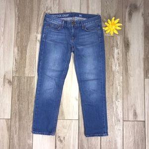 J Crew Matchstick Crop Size 28 Jeans